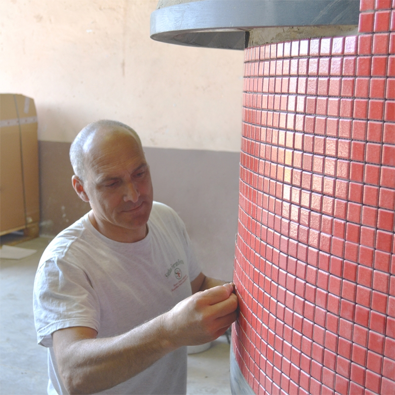 Making a Stefano Ferrara pizza oven - step 9